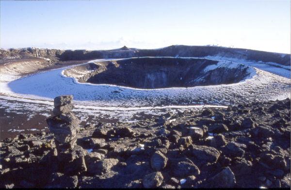 Reusch Crater & Ash Pit