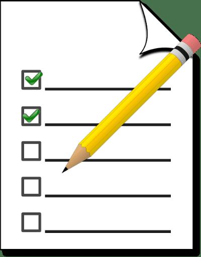 checklist for ten steps
