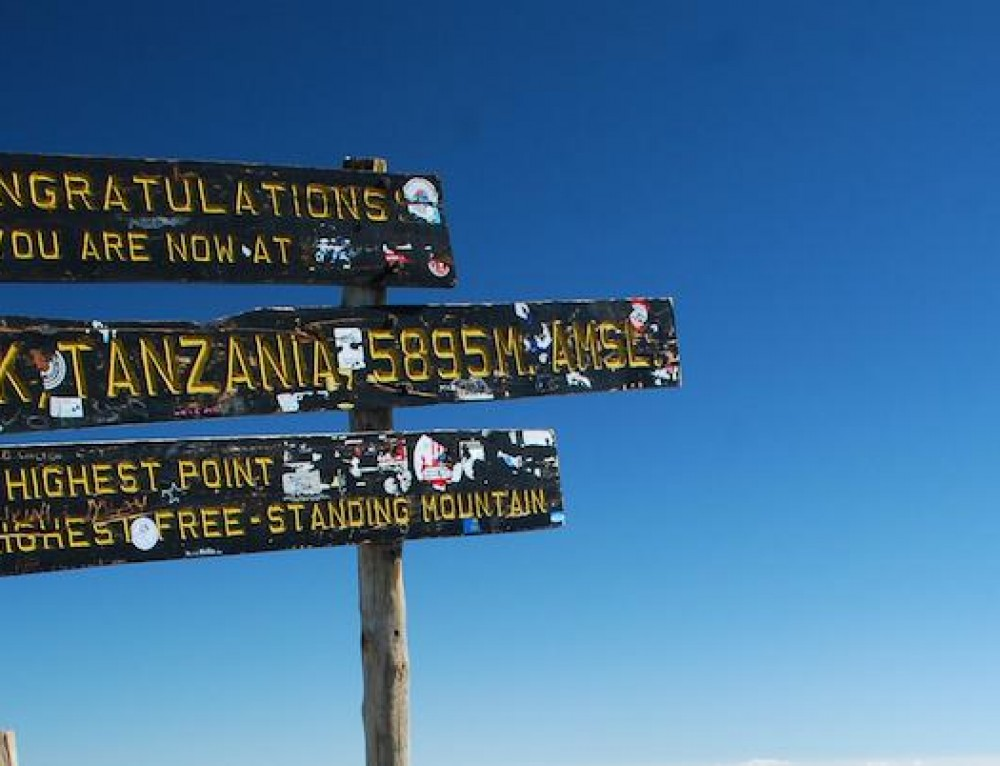 New record for oldest person to climb Kilimanjaro!