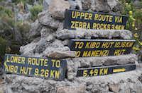 Kilimanjaro rocky signpost thumbnail