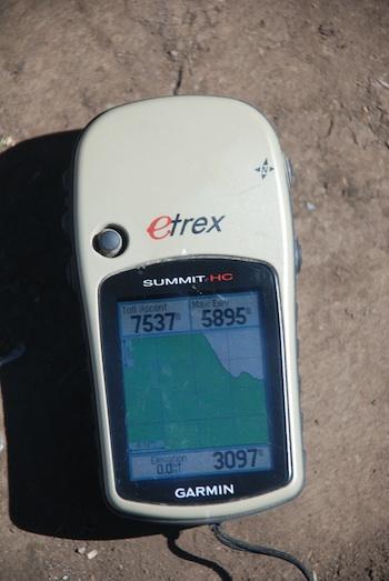 GPS on Kilimanjaro