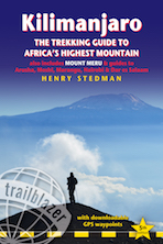The cover of the fifth edition of the Kilimanjaro guide
