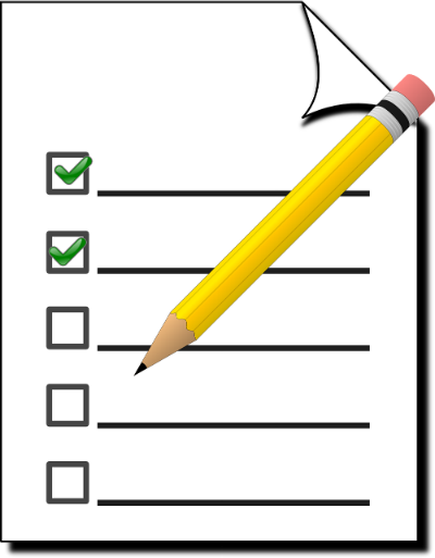 Checklist for Kilimanjaro symbol