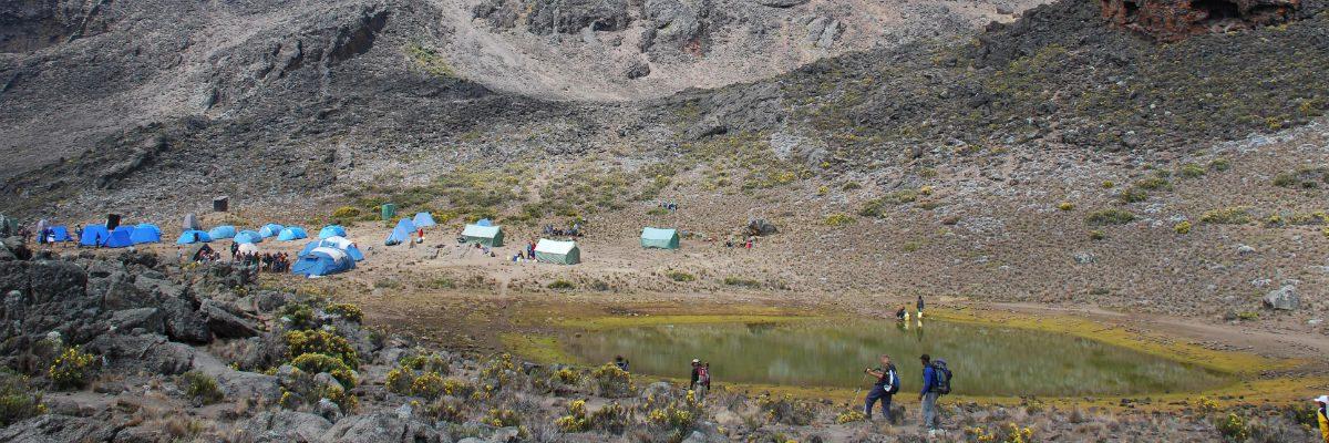 Mawenzi Tarn and Campsite