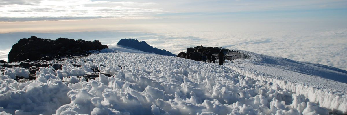 The Snows of Kilimanjaro on the main Kibo Peak
