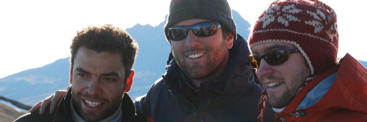 Three guys on Kilimanjaro