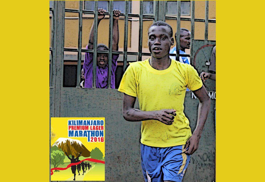 Amani kids run marathon