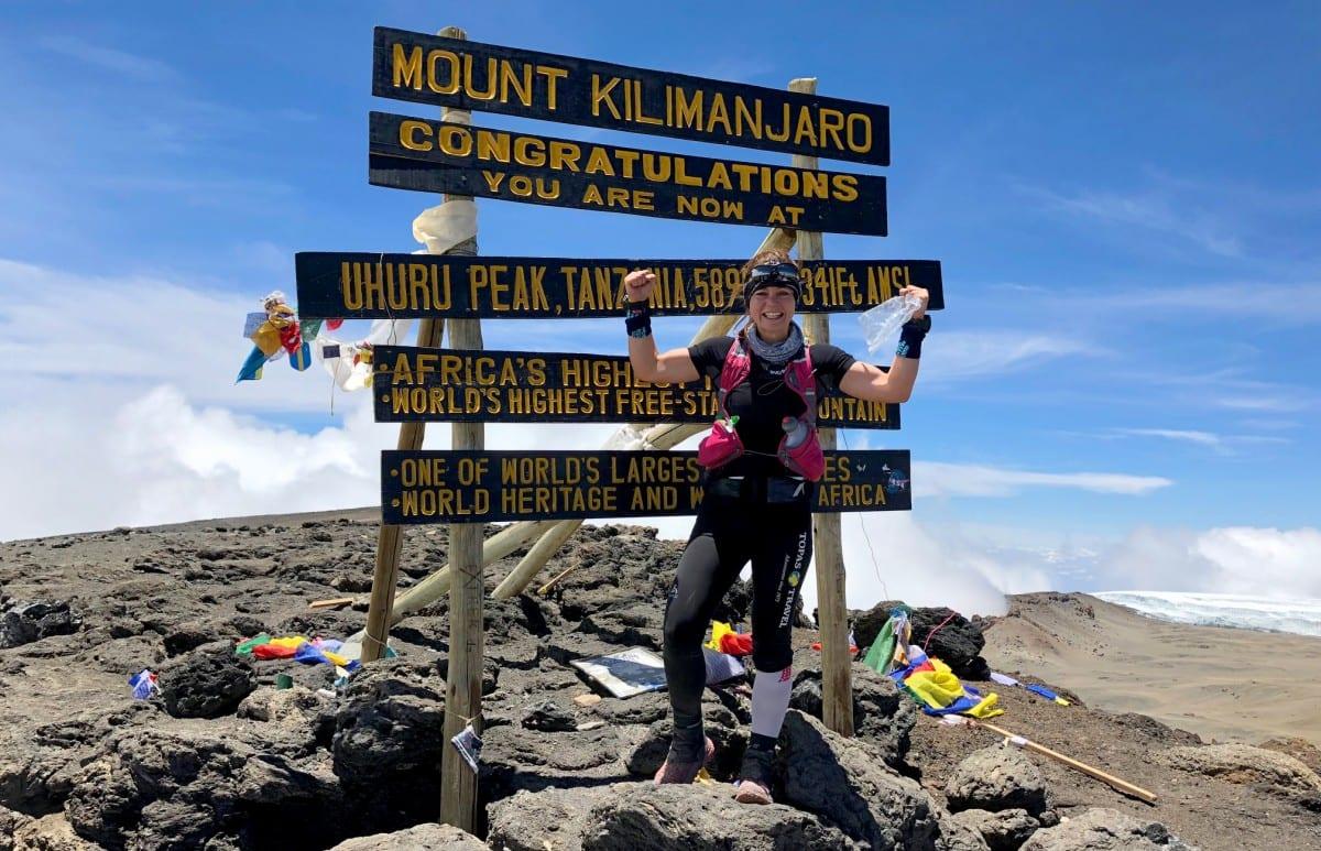 Fastest woman to climb Kilimanjaro Kristina Schou Madsen