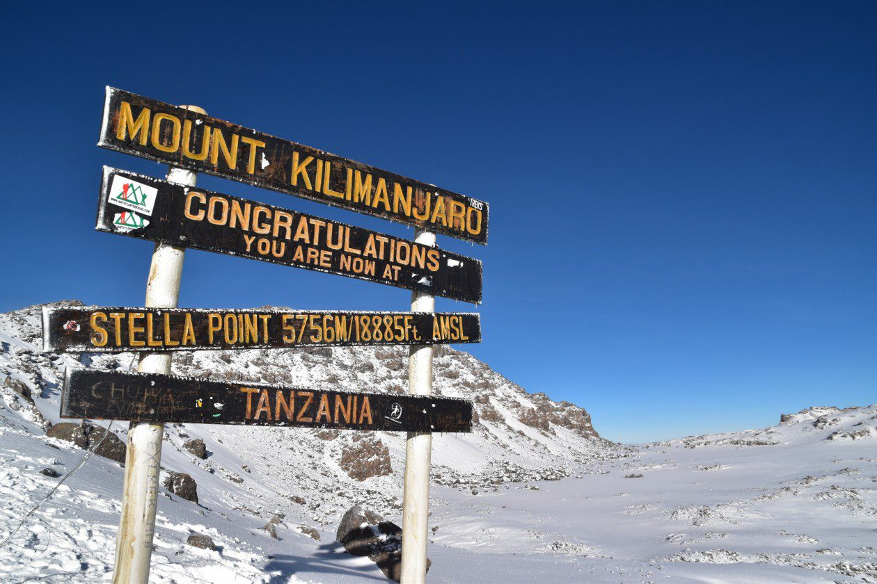 New world record for youngest female to climb Kilimanjaro!