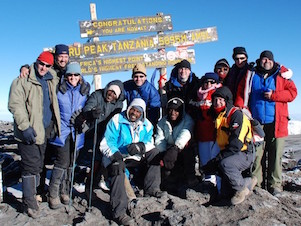 The Kilimanjaro Experts at Uhuru Peak