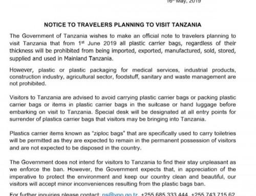 The plastic bag ban in Tanzania – an update