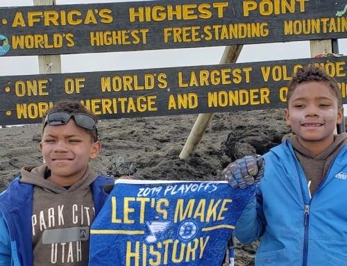 Ten-year-old twins climb to the summit of Kilimanjaro
